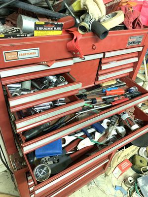 Two set of large tool boxes home sears craftsman storage brand for Sale in Manassas, VA