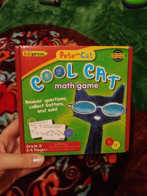Pete the Cat Math Game Cool Cat Grade K for Sale in Dallas, TX