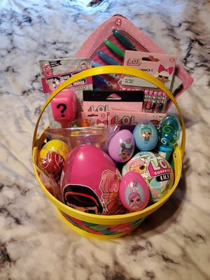 CUSTOM LOL SURPRISE EASTER BASKETS for Sale in Clearwater, FL