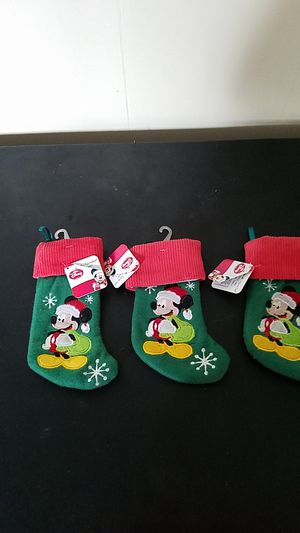 Disney Mini Stockings for Sale in South Windsor, CT