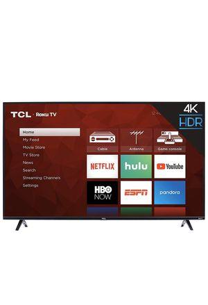 TCL 50S425 50 inch 4K Smart LED Roku TV (2019) for Sale in Eldersburg, MD