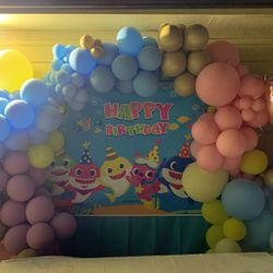 Baby Shark Background & Ballons for Sale in Houston,  TX