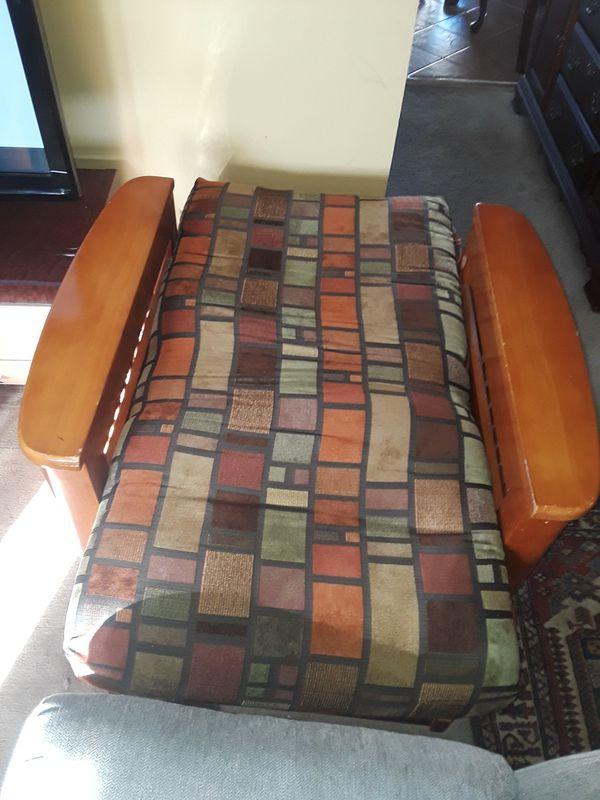 Beautiful convertible arm chair