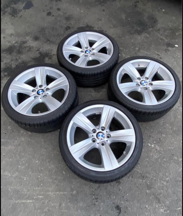 Bmw 335 228 staggered wheels oem size 18