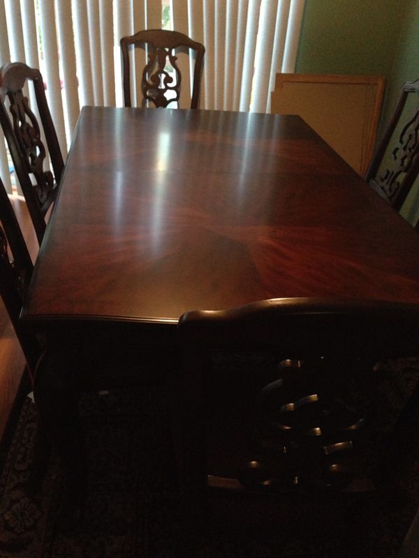 Ashley dining table