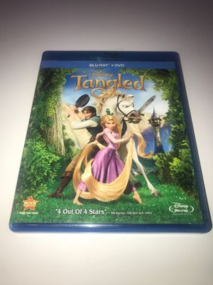 Disney's Tangled Blu-ray for Sale in Corona, CA