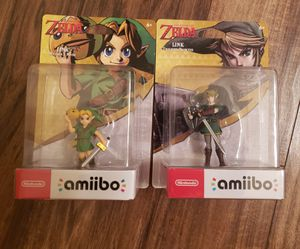 Zelda botw breath of the wild amiibo nintendo switch for Sale in Phoenix, AZ