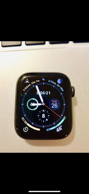 Apple Watch Series 4 44mm GPS Space Gray Aluminum for Sale in Plymouth, MN