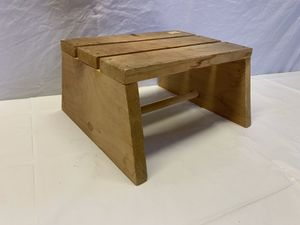 Small Wooden Step Stool - Solid Wood - Handy to have for Sale in Lauderdale Lakes, FL