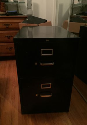 File cabinet, heavy duty legal size with two large drawers for Sale in Olivette, MO