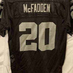 Raiders McFadden #20 Jersey Kids Medium for Sale in Fresno, CA