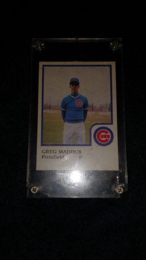 Greg Maddux baseball card for Sale in Creve Coeur, IL