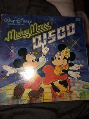 Micky mouse disco vinyl for Sale in Schaumburg, IL