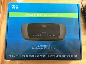 Linksys E1000 wireless N-router. for Sale in Norton, MA