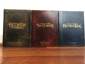 Lord of the Rings Trilogy for Sale in Raleigh, NC