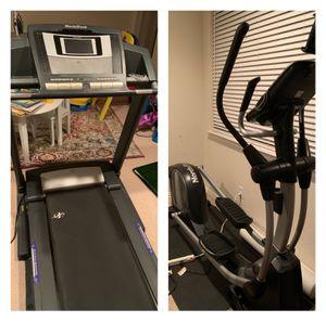 Nordic Track Treadmill & Elliptical for Sale in Richardson, TX