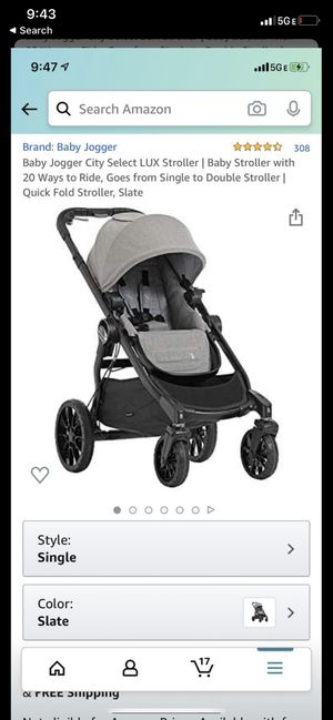 Baby jogger city select lux for Sale in Cary, NC
