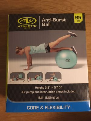 Workout ball for Sale in Coral Springs, FL