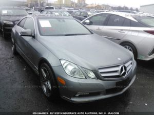 2011 Mercedes Benz e350 coupe parting out for Sale in Los Angeles, CA