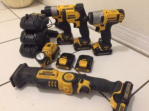 DeWalt 12v power tools for Sale in Los Angeles, CA