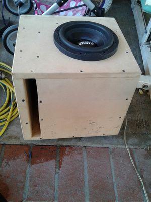 8in sundown audio 500w rms like new for Sale in Long Beach, CA