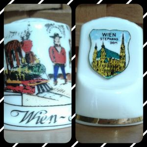 🇦🇹 THIMBLE COLLECTIBLES - AUSTRIA at $3 and $5 for Sale in Manteca, CA