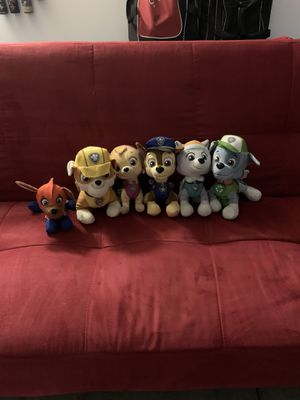 Paw Patrol stuffed animals for Sale in Modesto, CA