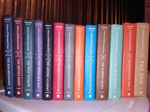 a series of unfortunate events written by Snicket volumes one through 13 for Sale in Phoenix, AZ