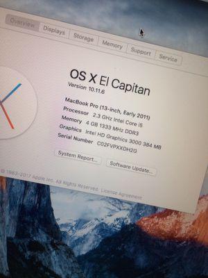 MacBook Pro 13 inch for Sale in Las Vegas, NV