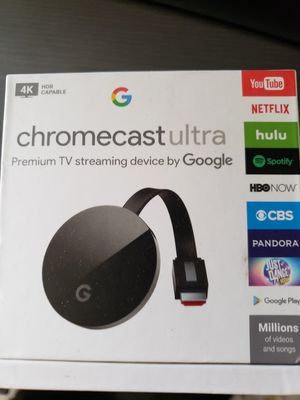 Chromecast Ultra 4k for Sale in Hutto, TX