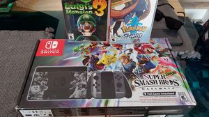 Nintendo Switch Super Smash Bros Edition for Sale in San Antonio, TX