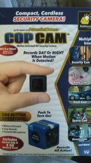 Cop cam for Sale in Dover, DE