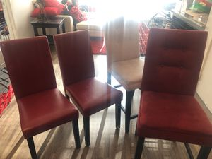 Table and chairs 2bar stools for Sale in Denver, CO