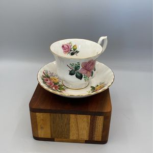 Royal Albert Pink And Yellow Tea Cup for Sale in Huntington Beach, CA