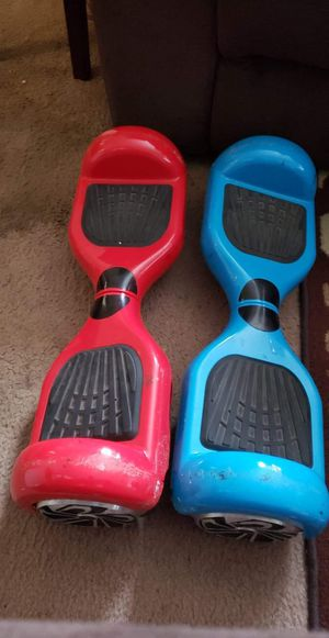 2 hoverboards with matching bag colors for Sale in Bremerton, WA