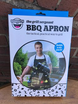 Camo BBQ Apron -holds 6 pack! for Sale in Arlington,  VA