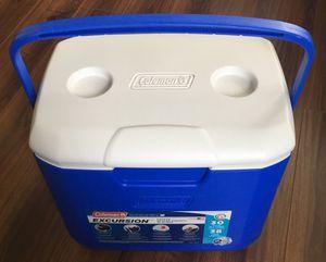 Coleman Blue 30 Qt Excursion Cooler for Sale in Clovis, CA