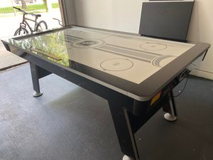 Air hockey table with ping pong addon and all equipments for Sale in Plano, TX