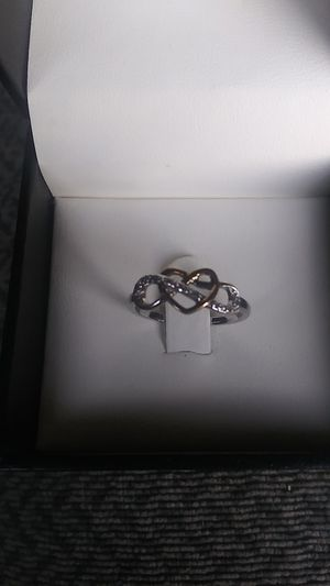 Silver & gold ring for Sale in Portland, OR