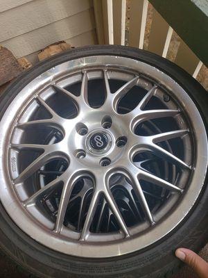 Enkei rims n tires for Sale in Fircrest, WA
