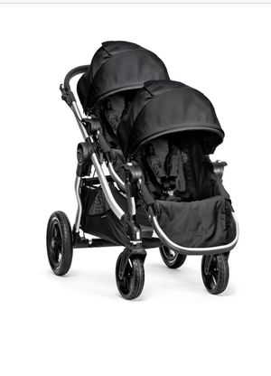 Baby Jogger City Select Double Stroller - Onyx for Sale in Tamarac, FL