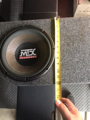 Mtx subwoofer with box enclosure for Sale in Anaheim, CA