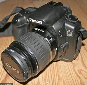 Canon EOS 20D BRAND NEW with 2 lenses $85 OBO for Sale in Phoenix, AZ
