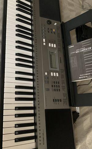 Yamaha E353 Keyboard for Sale in Ringgold, GA