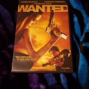 Wanted DVD for Sale in Hutchinson, KS