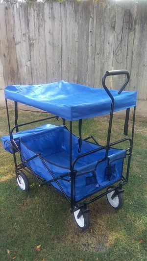 Pul. Cart great condition used twice maybe for Sale in Reedley, CA