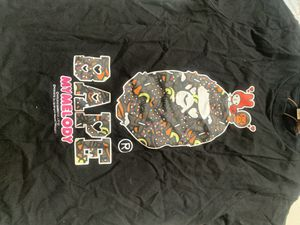 Bape (Bathing Ape) x Sanrio shirt WHITE for Sale in Seattle, WA