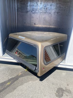 Camper shell for Nissan Titan for Sale in San Rafael, CA