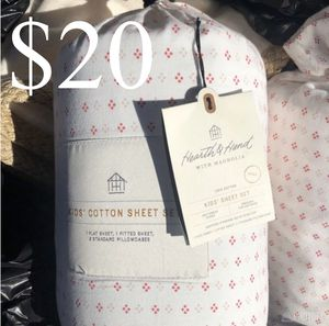 Hearth and hand full size cotton sheets set for Sale in Ontario, CA
