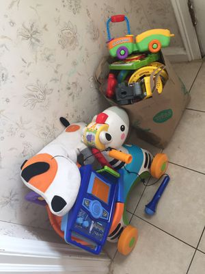 Log or toys and boy 2t to 4 t clothes for Sale in Philadelphia, PA